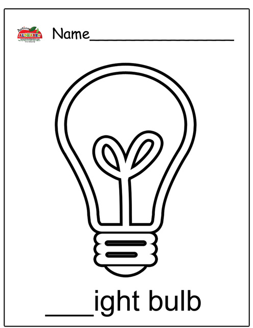 """Search Results for """"Christmas Light Bulb Coloring Page"""