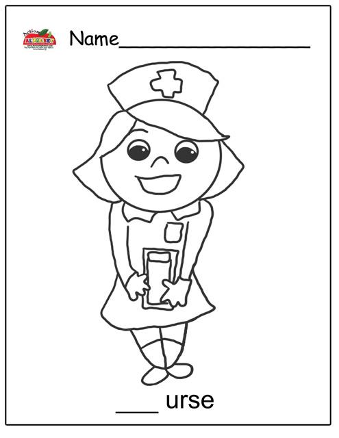All Worksheets » Doctor Worksheets For Kindergarten