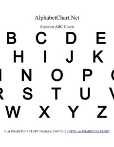 Uppercase bold alphabet letter chart in pdf also charts normal  italic rh alphabetchart