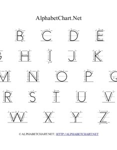 Alphabet chart with arrows in uppercase also printables for children download free  pdf charts rh alphabetchart