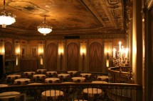 In of the Crystal Ballroom Biltmore Hotel Los Angeles