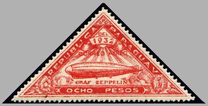 Alphabetilately Z is for Zeppelin Post
