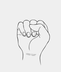 American Sign Language Alphabet in Alphabetical Order