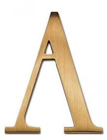 University Roman Font : university, roman, University, Roman, Metal, Letters,, Aluminum, Bronze, BL2KK08