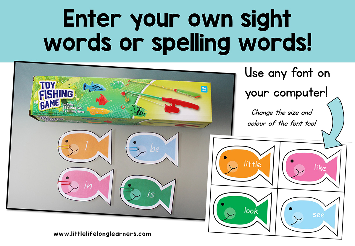 Sight Word Fish