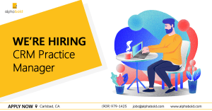 crm practice manager job