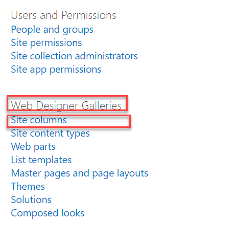 meta data setting in sharepoint