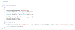 TestCase in Selenium for CRM Automation Testing