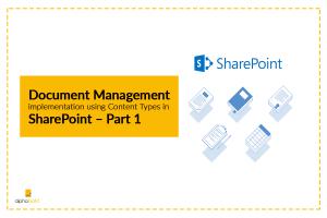 sharepoint document management part 1