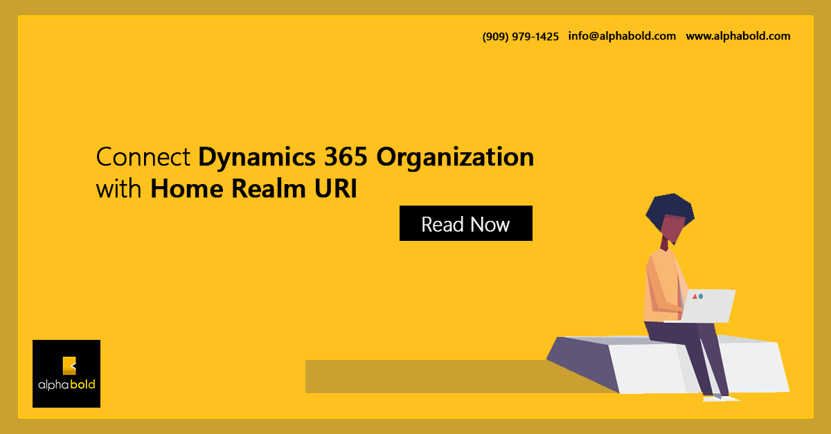 home realm dynamics 365