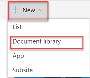 document library select in sharepoint