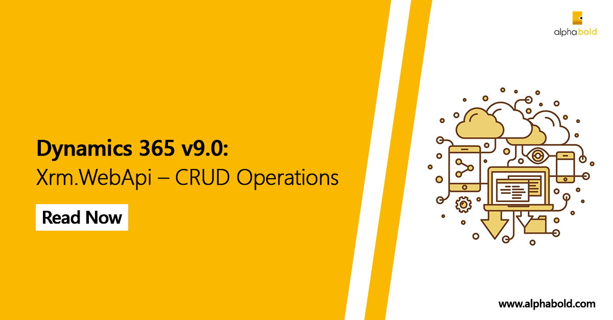dynamics 365 crud operation