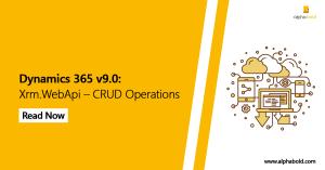 dynamics 365 crud operation