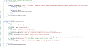 syntax to retrieve single entity record