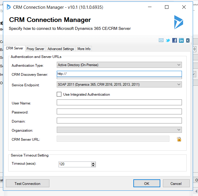 microsoft dynamics 365 CE/CRM server
