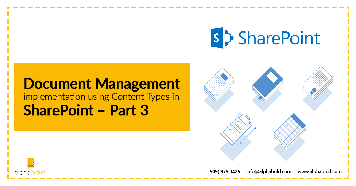 document management with sharepoint part 3