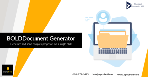 document generator service dynamics 365