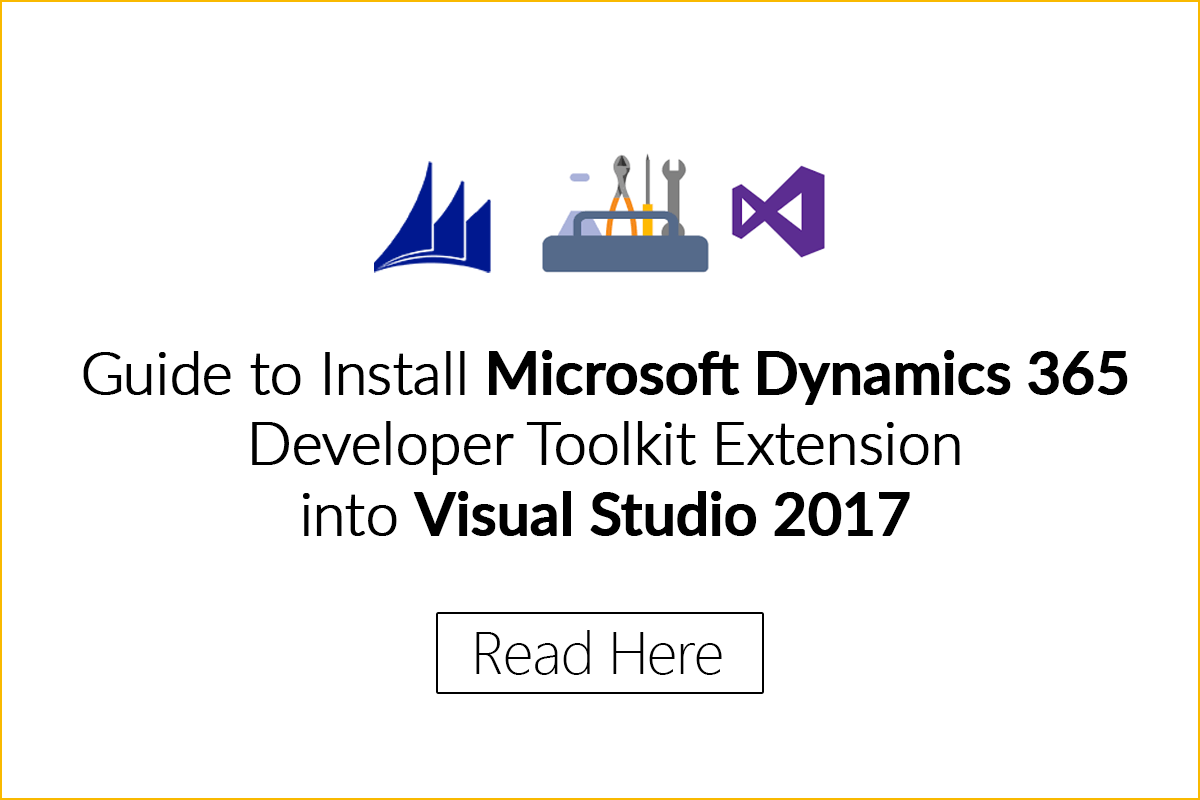 Dynamics 365 Developer toolkit