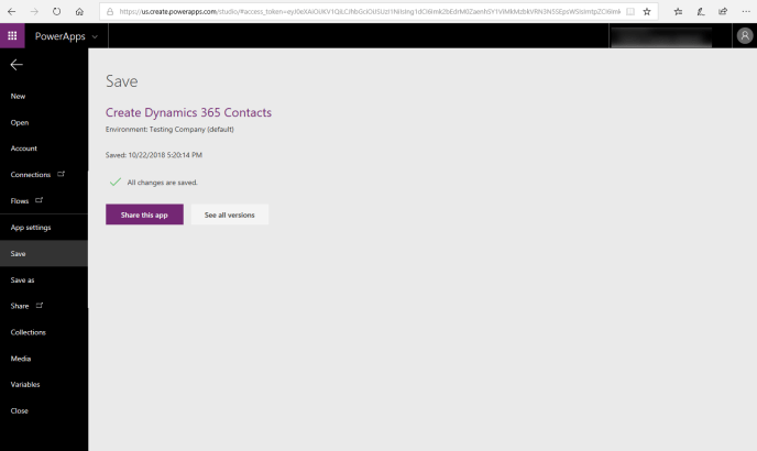 share PowerApps with any user