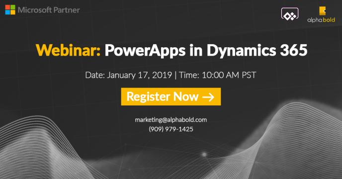 webinar powerapps dynamics 365