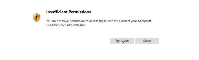 User Login Permissions in Microsoft Dynamics CRM 365