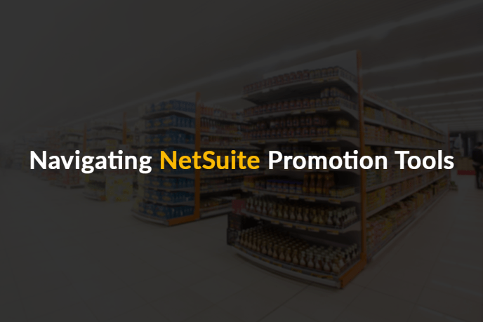 NetSuite promotion tools