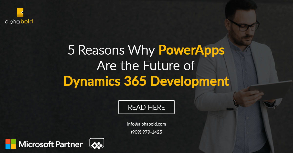 powerapps for dynamics 365 development