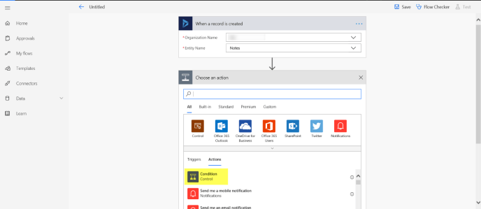 Convert Word to PDF file using Microsoft Flow in Dynamics