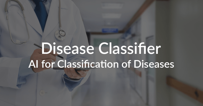 AI Solution classification of diseases
