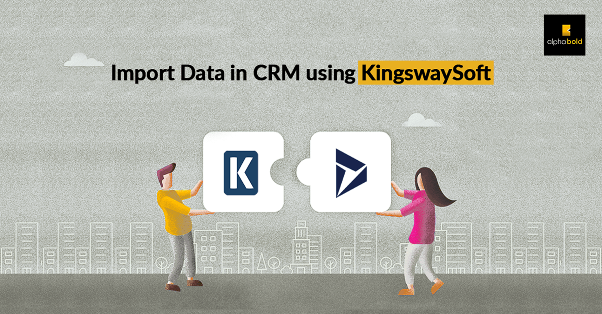 import data crm kingswaysoft