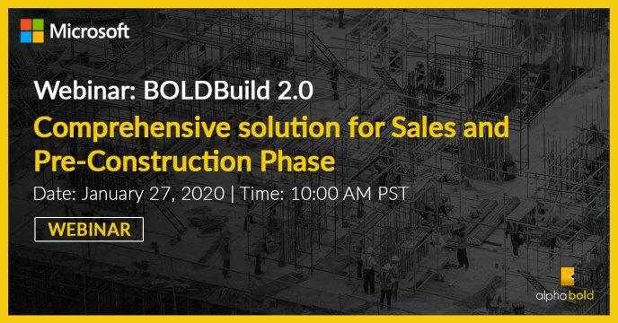 boldbuild webinar 27 January