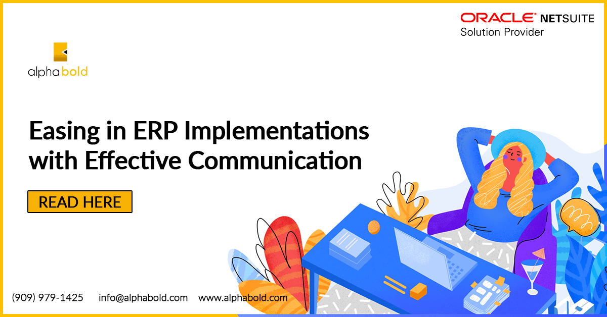 NetSuite ERP Implementations Communication