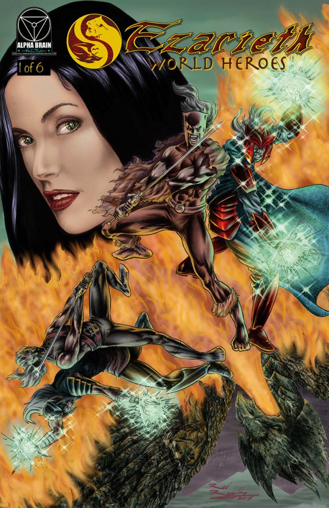 Ezarieth #1 Comic Book