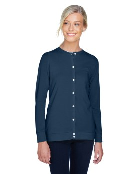 Devon & Jones Ladies' Perfect Fit™ Ribbon Cardigan Promotional Apparel