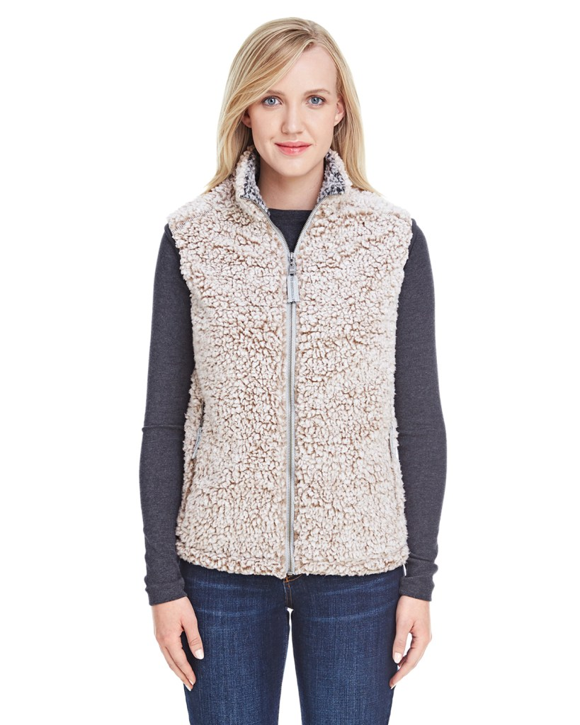 Promotional Apparel J America Ladies' Epic Sherpa Vest