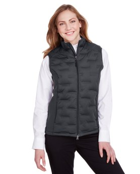North End Ladies' Pioneer Hybrid Vest promotional apparel