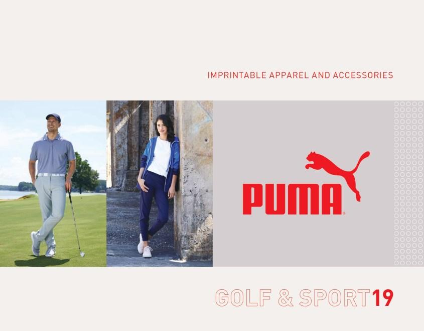PUMA Sport and PUMA golf breakout book