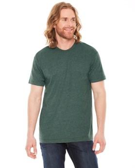 Poly-Cotton Short-Sleeve Crewneck