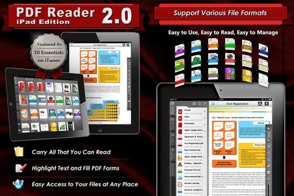 PDF Reader iPad Edition