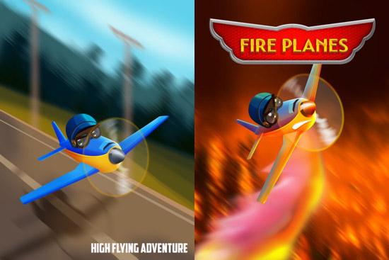 Fire Planes app