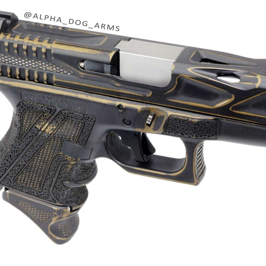 Alpha Dog Arms ZZYZX custom Glock G26