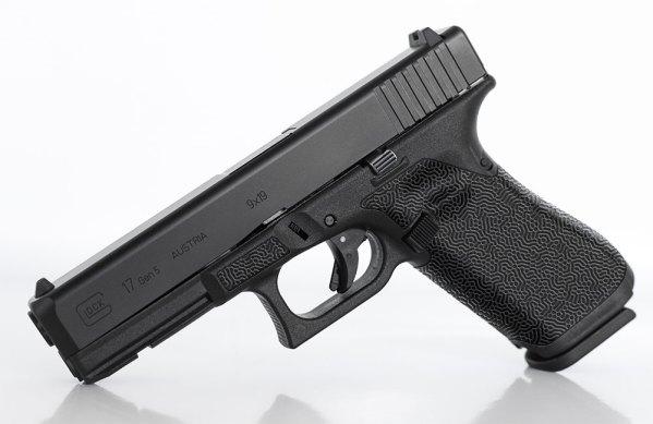 "Glock ""Wormwood"" Laser Stippling"