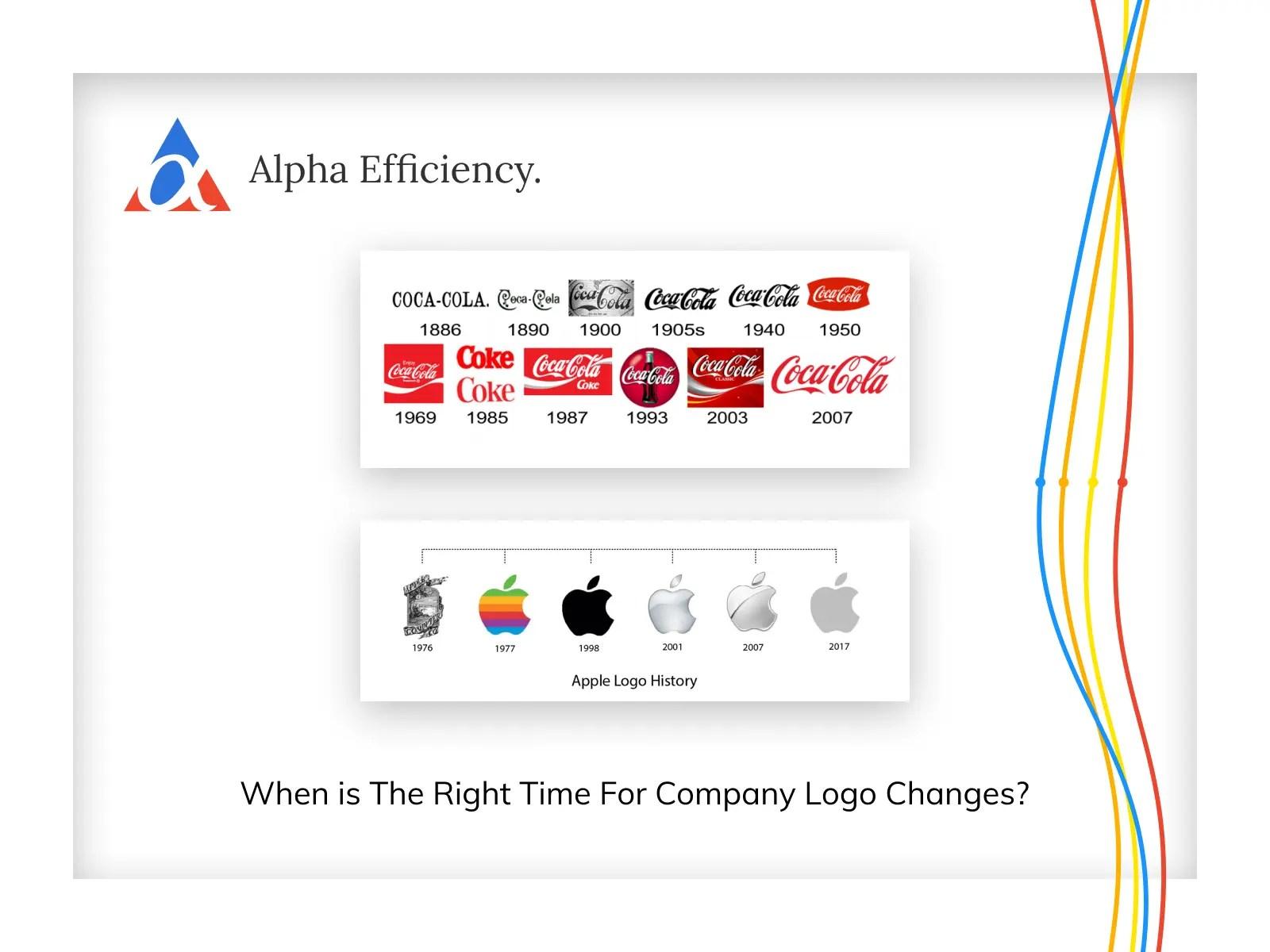 company logo changes