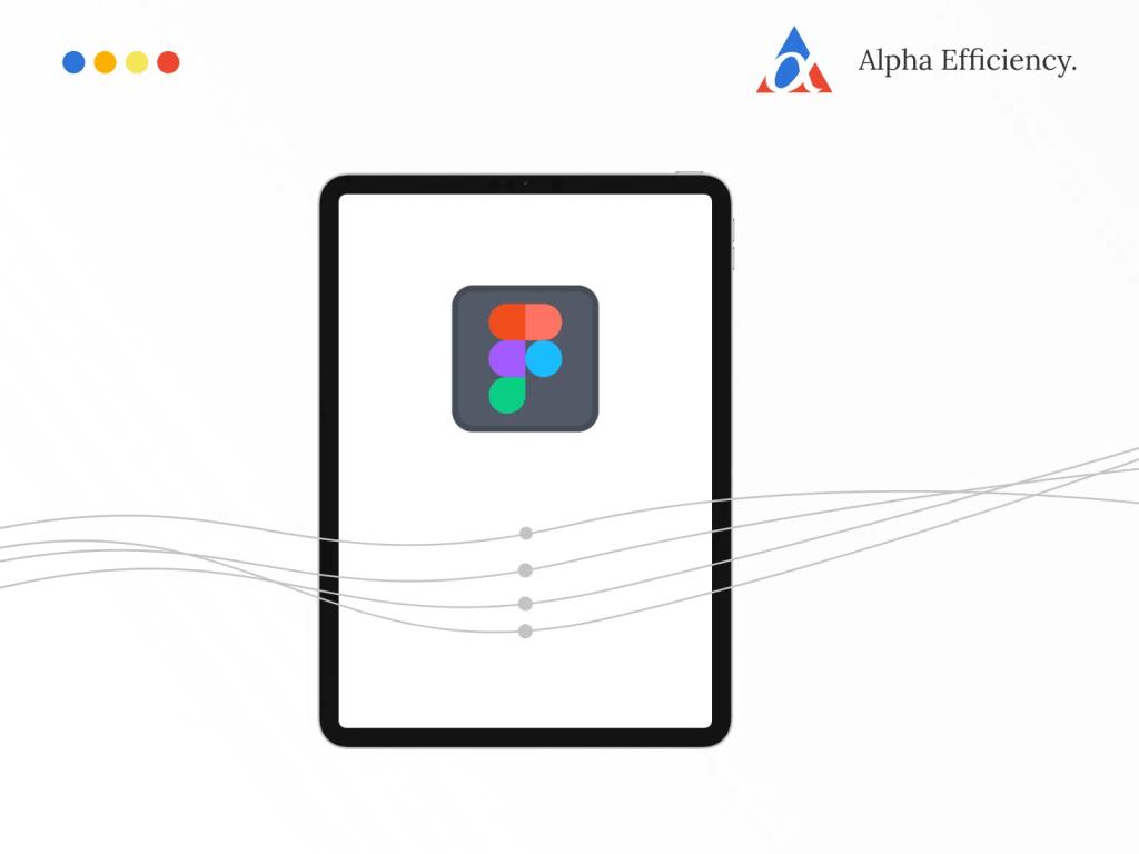 Figma on iPad Pro