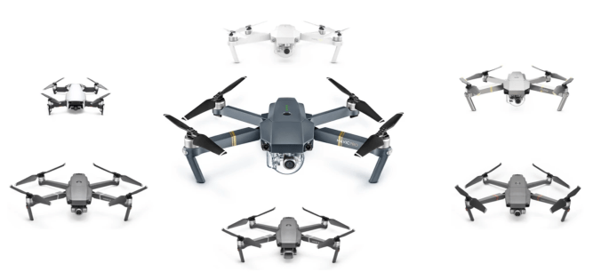 DJI Drone lineup