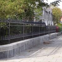 Alpha Fencing Ellon - cast iron railings