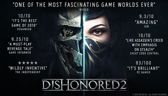 Dishonored 2 Free Download (v1.77.9)