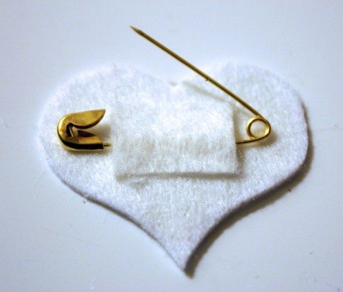 Felt Valentine Iron Patch