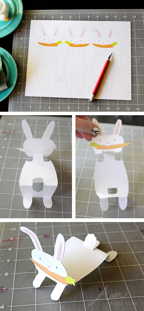 Bunny Name Cards Printable For Your Easter Celebration