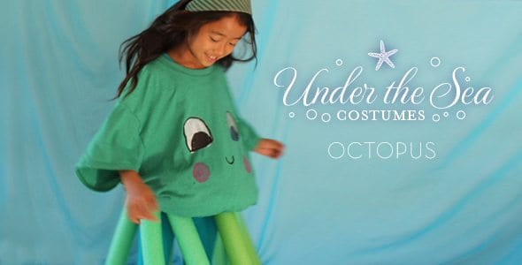 DIY Under-The-Sea Costumes Octopus!  sc 1 st  Alpha Mom & Starfish Costume for Kids (Under-the-Sea Series) | Alpha Mom